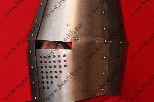 Шлем топхельм тренировочный, фото 3