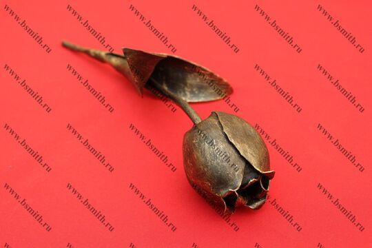Кованый тюльпан, фото 3