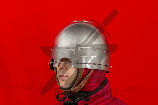 Шлем тюрбанный простой, вид в три четверти