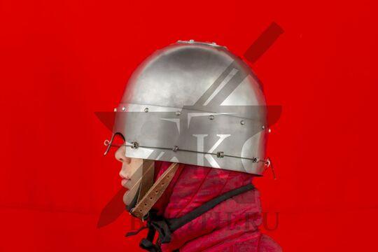 Шлем тюрбанный простой, вид сбоку
