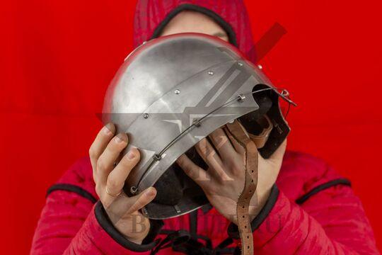 Шлем тюрбанный простой, вид в сбоку