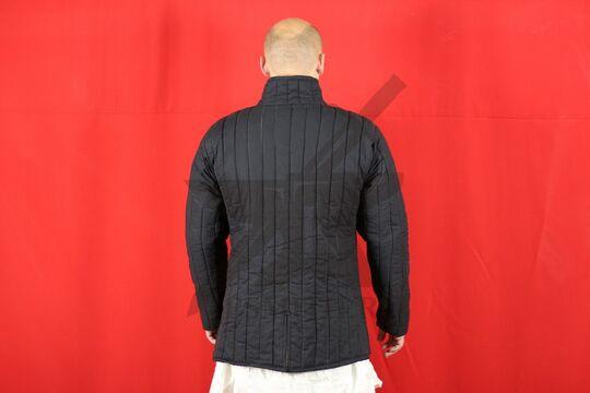 Стеганая куртка, 2 слоя, длина 80 см, х/б, вид со спины