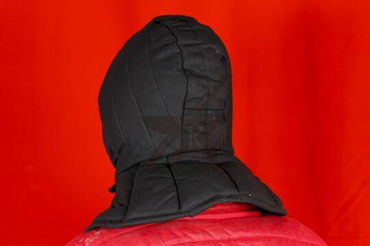Подшлемник с оплечьем, 2 слоя, х/б, вид сзади-сбоку