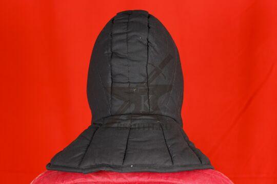 Подшлемник с оплечьем, 2 слоя, х/б, вид сзади