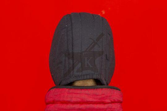 Подшлемник короткий, 1 слой, диагональ, вид сзади