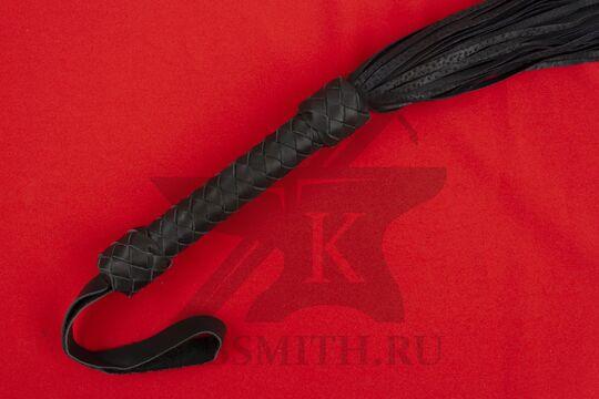 Плеть походная черная, рукоять