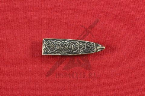 Хвостовик для ремня, Скандинавия, 10-11 век