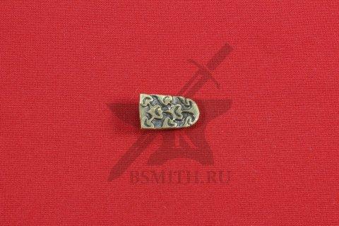 Хвостовик для ремня, Хазары, 8-10 век