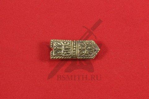 Хвостовик для ремня, Русь, 11-13 века