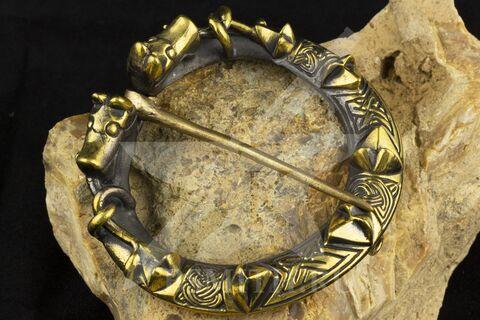 Фибула, Готланд, 10-11 век
