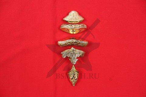 Набор на эфес и ножны каролинга из Сконе