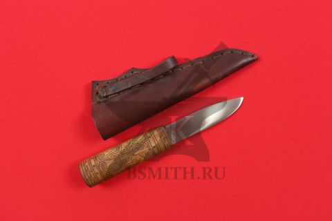 Нож бытовой, вариант 1, с ножнами