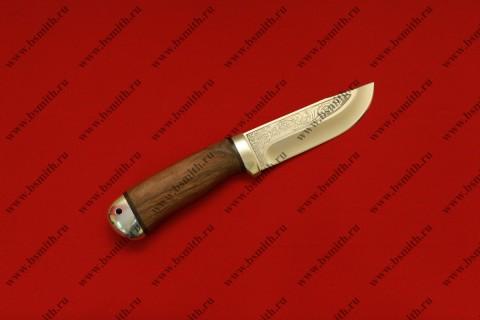 "Нож ""Клычок-2"", рукоять дерево, фото 1"