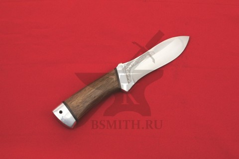 """Нож """"Скинер"""", рукоять орех"""