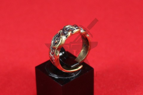 Кольцо с скандинавским орнаментом