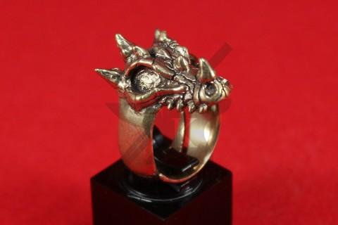 """Кольцо """"Череп дракона"""""""