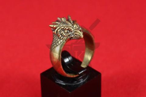 "Кольцо ""Голова дракона, вариант 3"""