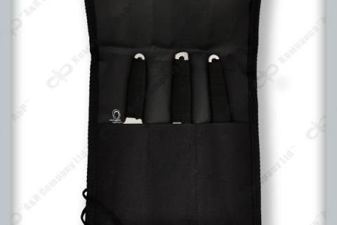 Скатка для метательных ножей на три ножа, фото 1