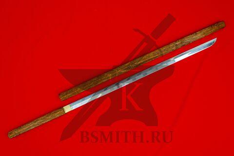 Сикомидзуэ темный прямой, с ножнами