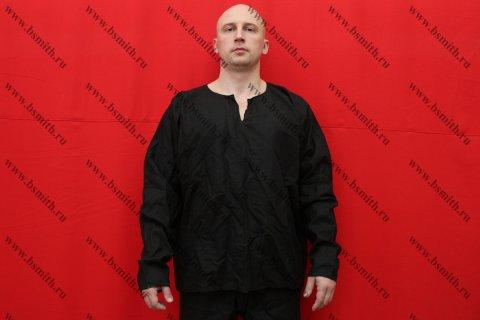 Рубаха мужская, Русь, лен черный
