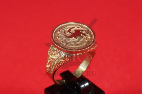 Перстень с гербом Таргариенов