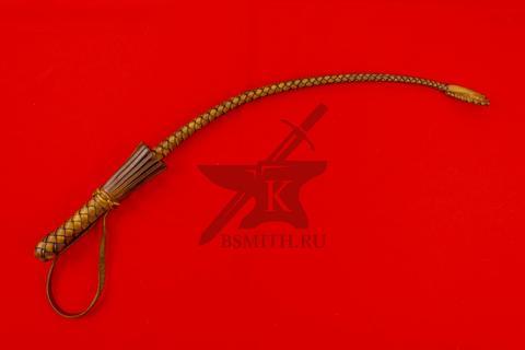Нагайка боевая кубанского типа, 6 полос, коричневая