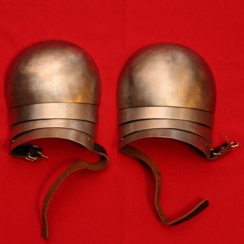 Рыцарские латные наплечники