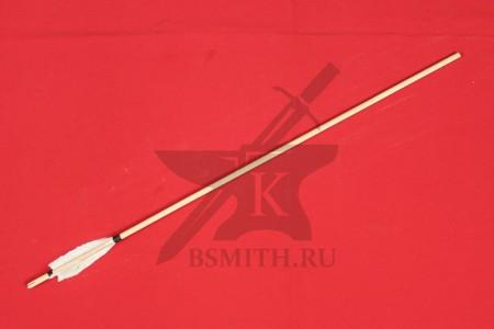 Древко стрелы с оперением, 9 мм / 80 см