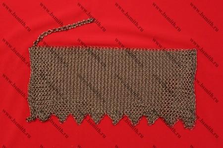 Бармица прямая с фестонами, 1.6х8 мм, фото 1