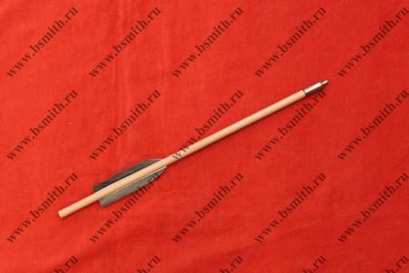 Болт арбалетный, 30 см / 8 мм / 2 пера, фото 1