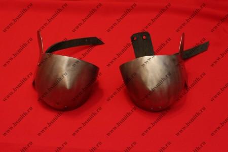 Налокотники миланские, с лепестком, фото 1