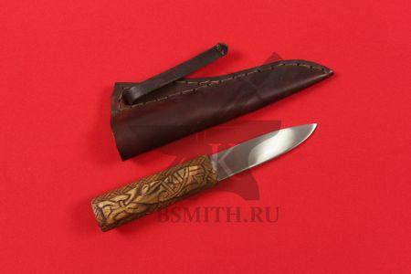 Нож бытовой, вариант 2, с ножнами