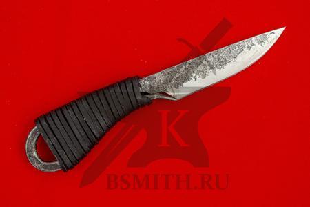Нож новгородский малый, сталь 65Г, фото 1