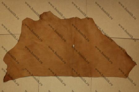 Кожа подкладочная, 0.9-1.1 мм, бежевая, фото 1