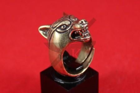 """Кольцо """"Волк"""" стилизованный"""