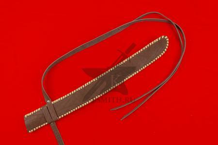 Ножны кожаные для вакидзаси, коричневые