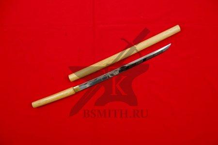 Сикомидзуэ - вакидзаси полированный, с ножнами
