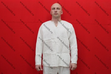 Рубаха мужская, Русь, лен отбеленный