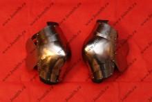 Налокотники сегментные с лепестками, сталь 65Г, закалка, фото 1