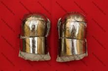 Варежки спортивные стеганые, с титановыми пластинами, фото 1