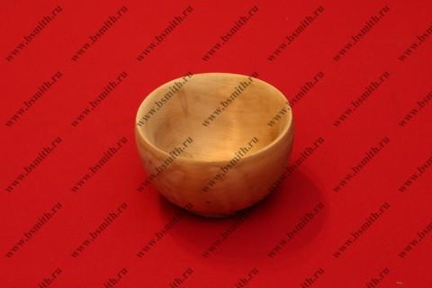 Миска деревянная вываренная, фото 1