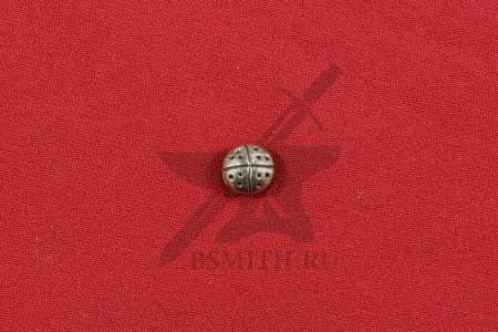 Пуговица литая, Русь, 9-14 века, фото 1