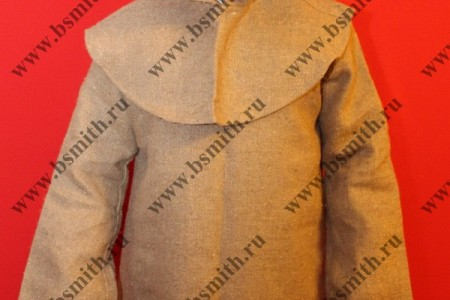 Балахон с худом, мешковина, фото 1