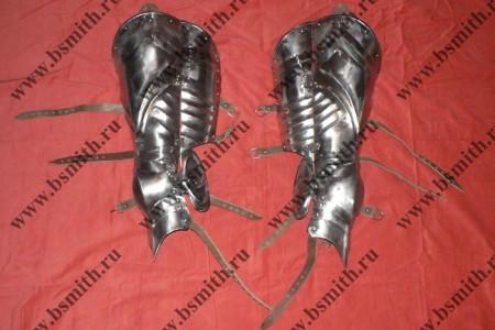 Ноги латные готические, фото 1
