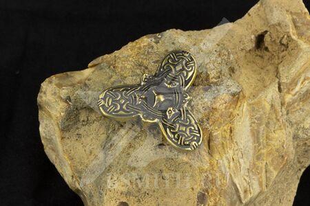 Фибула - трилистник, 10 век