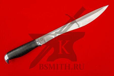 Нож Боярин, рукоять орех, фото