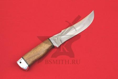 Нож Клык, рукоять наборная кожа