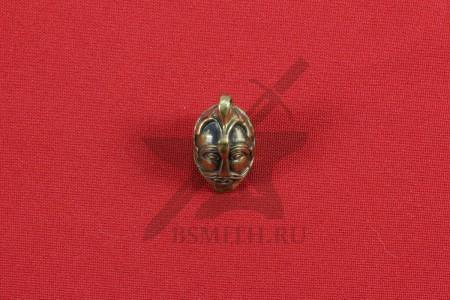 Подвеска в форме шлема, Аска, Швеция, 10 век. Литье, бронза. Фото 1
