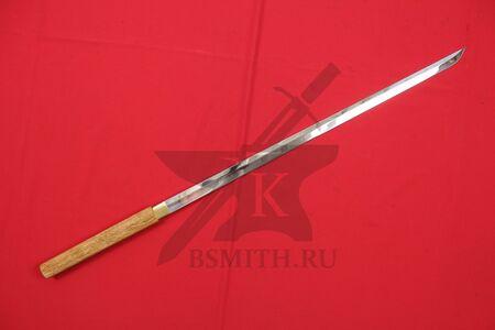Японский меч - посох сикомидзуэ с прямым клинком, фото 1