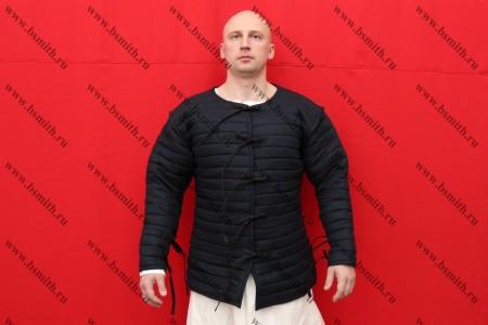 Стеганая куртка на 15 век, лен, 2 слоя